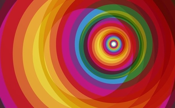 colorful background design spiral rainbow decoration