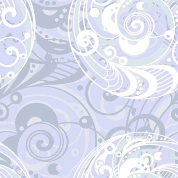 abstract pattern template messy twisted circle swirled shapes