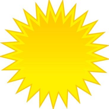 Spite Sun clip art