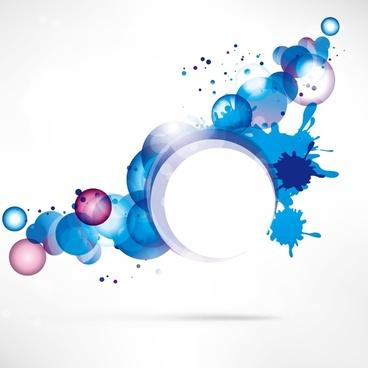 splash ring background
