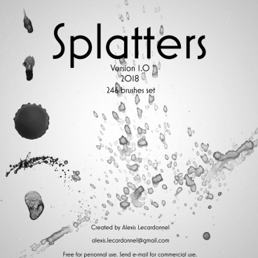 splashy splatters