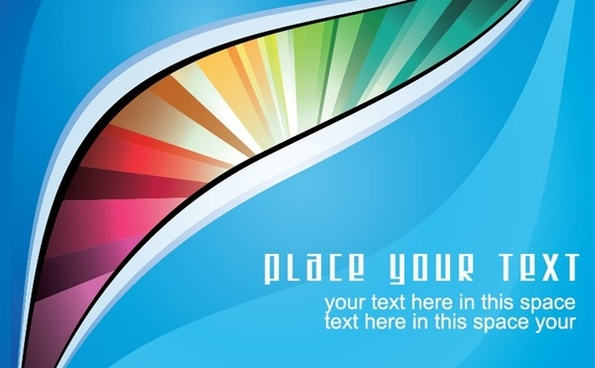 abstract colorful background blue design curves decoration