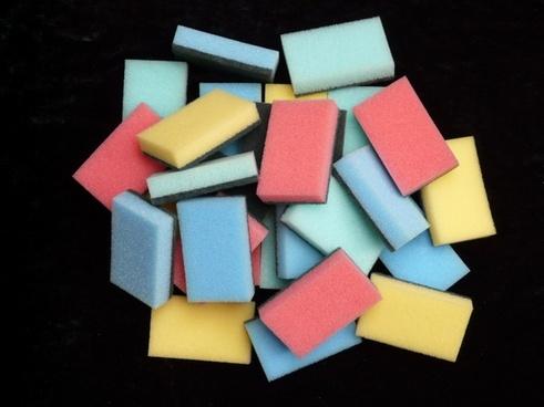 sponge sponges clean
