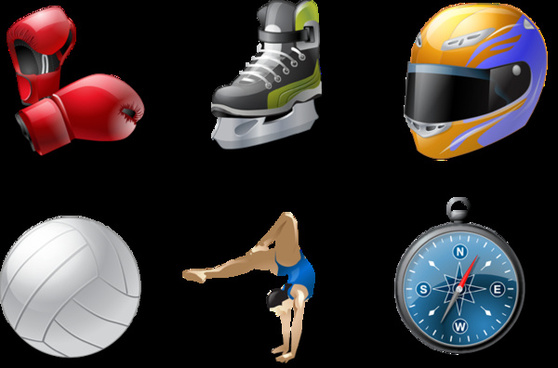 sport vector icons