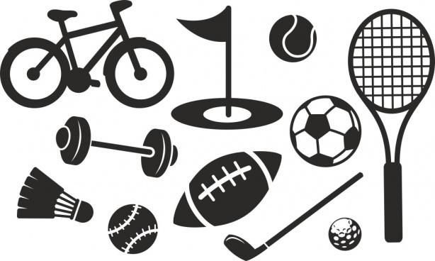 sport vector set free vector