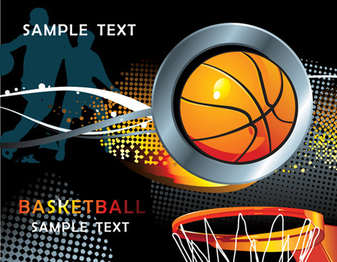 sports design elements vector background