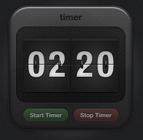 Sports Timer Icon – Free PSD file