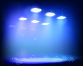 spotlight light design background vector