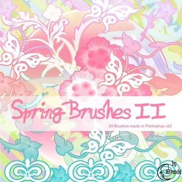 Spring Brushes 2