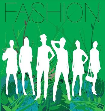 spring fashion vector