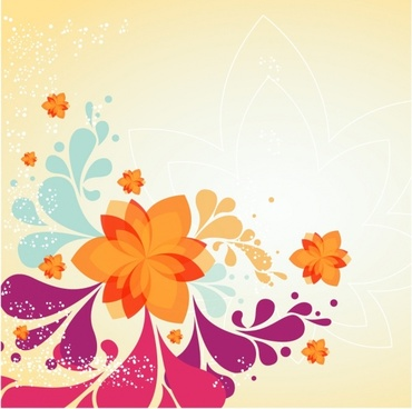 Spring Flower Background
