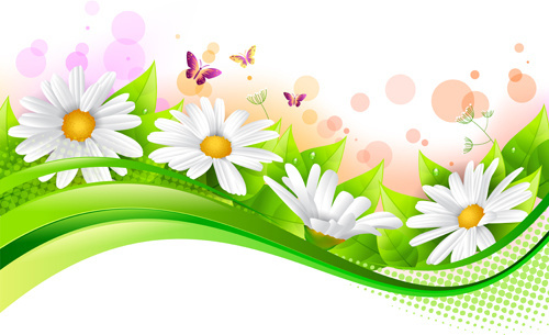 spring flowers border clip art free vector download 216 485 free rh all free download com