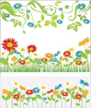 Spring Flowers Clip Art Free Vector Download 218 943 Free Vector