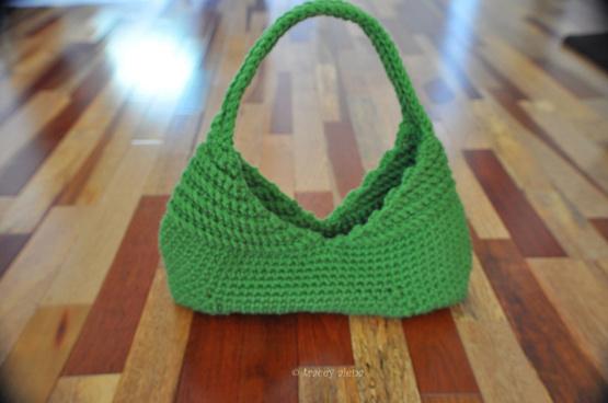 spring green purse