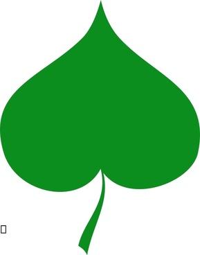 Spring symbol - Linden leaf