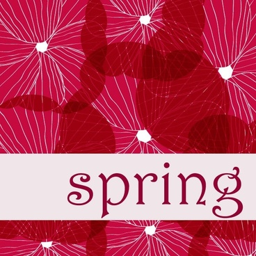 spring vector background 1