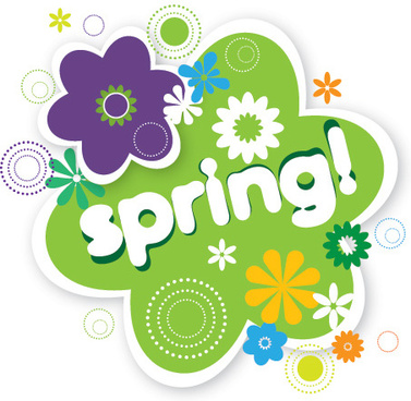 spring vector graphic