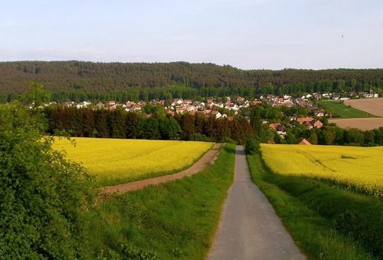 springe germany landscape