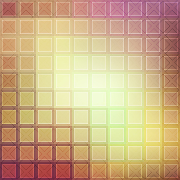 square decor background