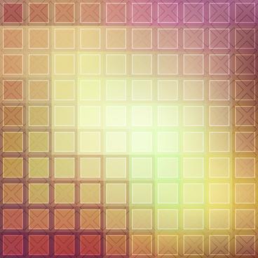 square decor background