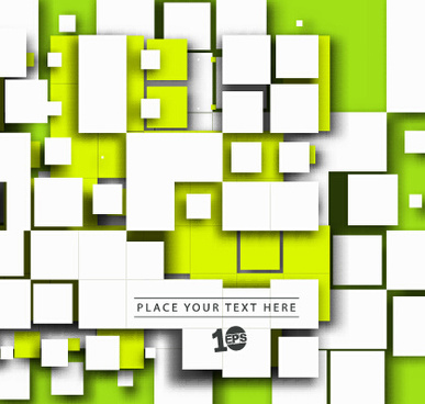square shapes abstract art background
