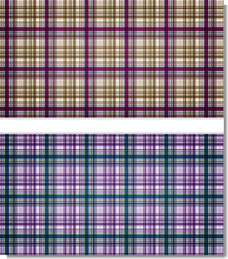 squared plaid pattern