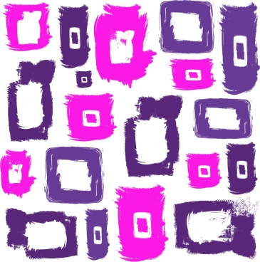 squares background watercolored grunge design