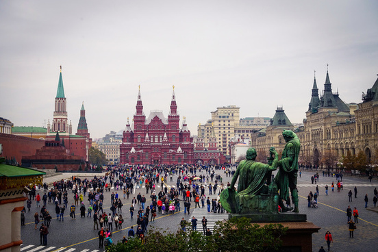 st basils view of red square