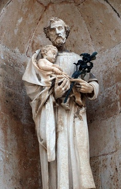 st joseph and little jesus