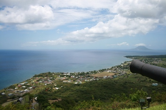 st  kitts and navis caribbean sea brimstone hill fortress
