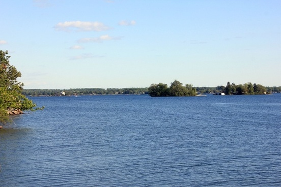 st lawrence seaway at wellesley island state park new york
