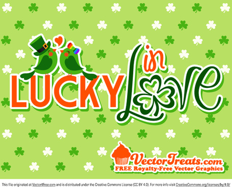 st patricks day lucky in love
