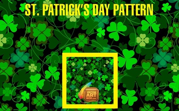 St Patrick's Day Pattern