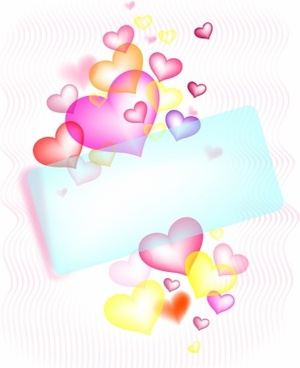 St. Valentine greetings card