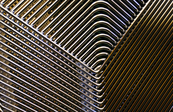 stacking chairs abstract