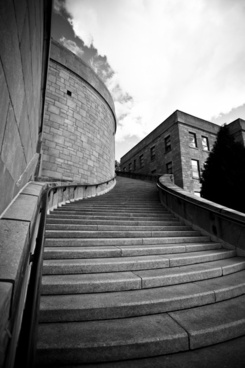 stairs architecture perspective