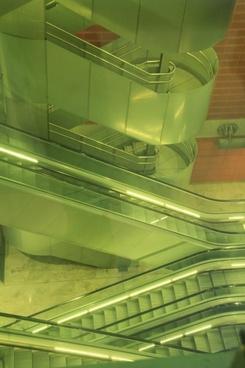 stairs escalator architecture