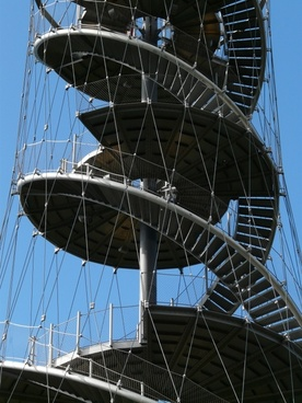 stairs spiral staircase metal