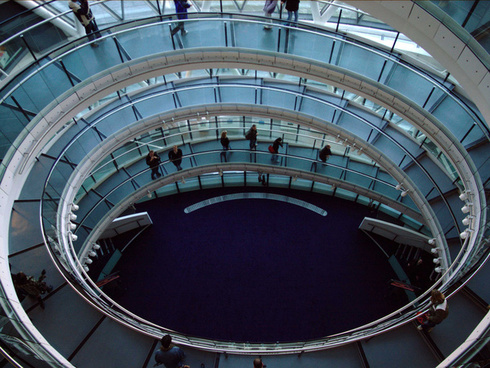 stairwell gla building