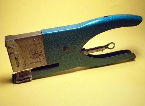 stapler office paperclip