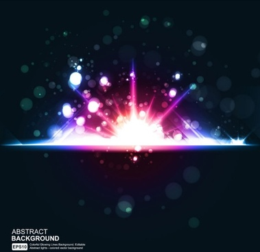 star bright background 03 vector