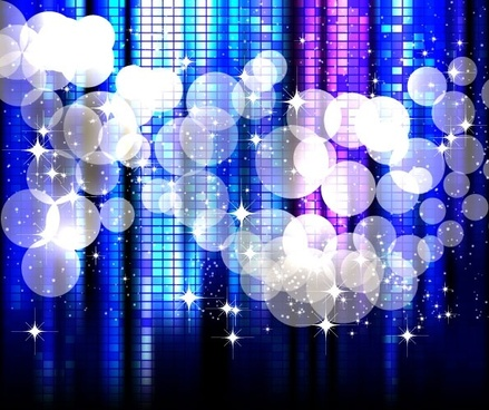 star bright blue background vector