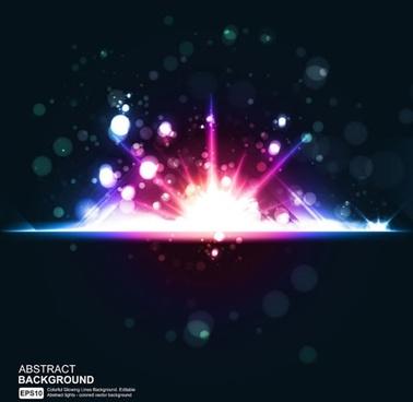 star bright glare vector symphony