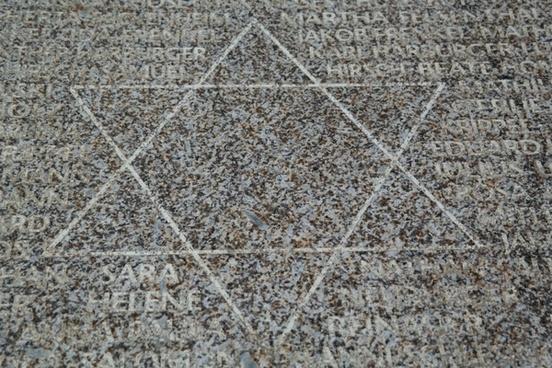 star of david memorial stone ulm