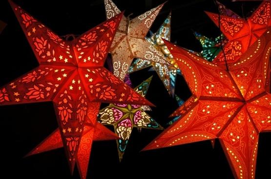 star red black