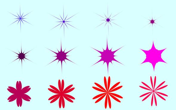 star vector design elements