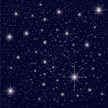 starlit background modern twinkling design