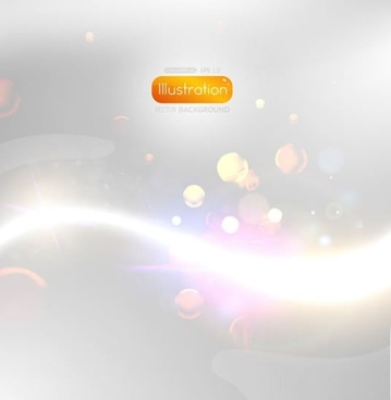 starlight glow background vector