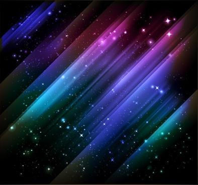 starry sky background twinkling dark decor