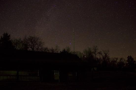 stars above the cabin in ozark national scenic riverways missouri